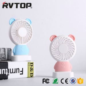 Standing desktop fan Hot sale air cooler rechargeable mini fan with power bank and led light