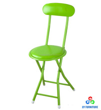Small folding breakfast chairs kitchen stool chair with soft seat