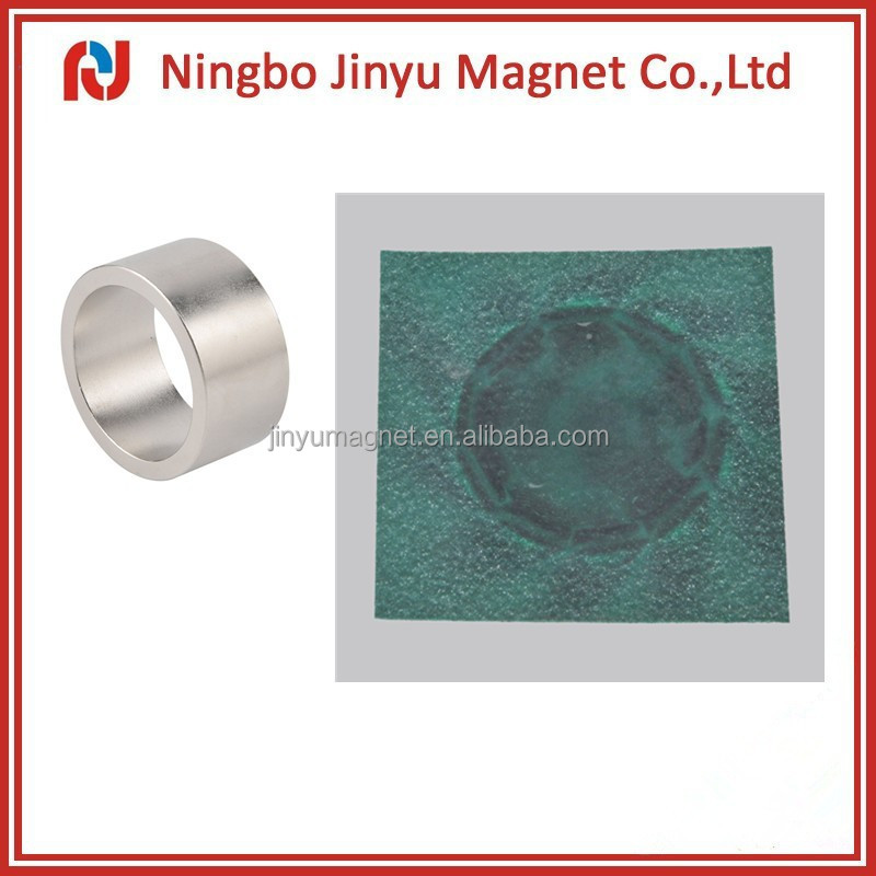 N38H grade neodymium disc radiation permanent ring motor magnet