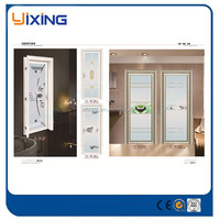 Factory Price High Density Polyester Fiber And Aluminum Door