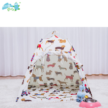 2018 cheap portable small outdoor pet house bed tents for dogs