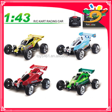 Famous Brand Great Wall 2009 4CH 1/43 Remote Control Radio Mini RC Kart Racing Car