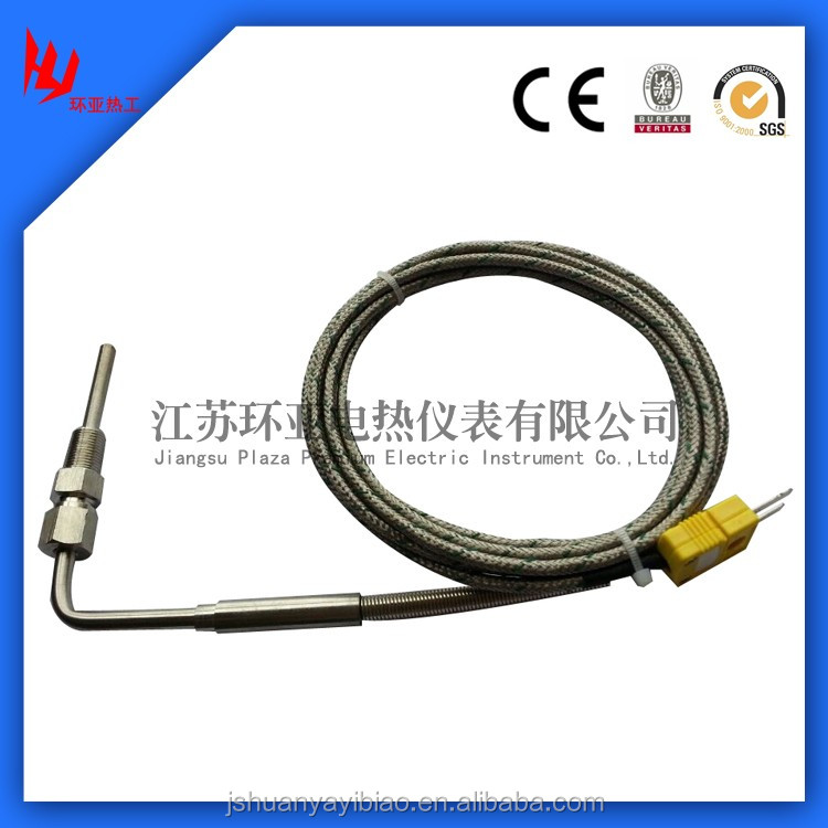 Temperature Sensor Theory and Industrial Usage Exhaust Gas Temperature EGT Sensor