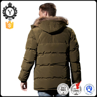 COUTUDI brand wholesale Chinese manufacturers fashion clothing 2016 italian men fur parka coat