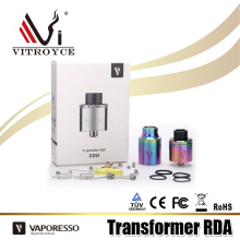 2017 rainbow tank Vaporesso Transformer RDA Tank wholesale ecig products
