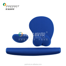 Memory Foam Keyboard mousepad with Wrist Rest Support mouse pad 3d