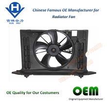 CHINA Car SPARE PARTS 16711-0T010 12V DC MOTOTR RADIATOR COOLING FAN FOR TOYOTA COROLLA