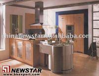 Newstar cheap wooden cabinet kitchen