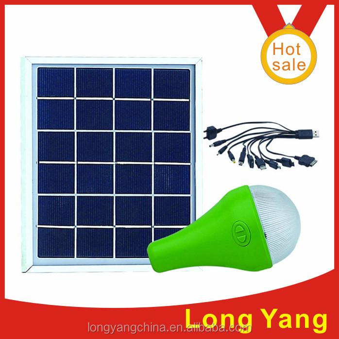 3W/ 3meter cable solar system 3W/6V solar power DC system /solar energy light series easy carrier