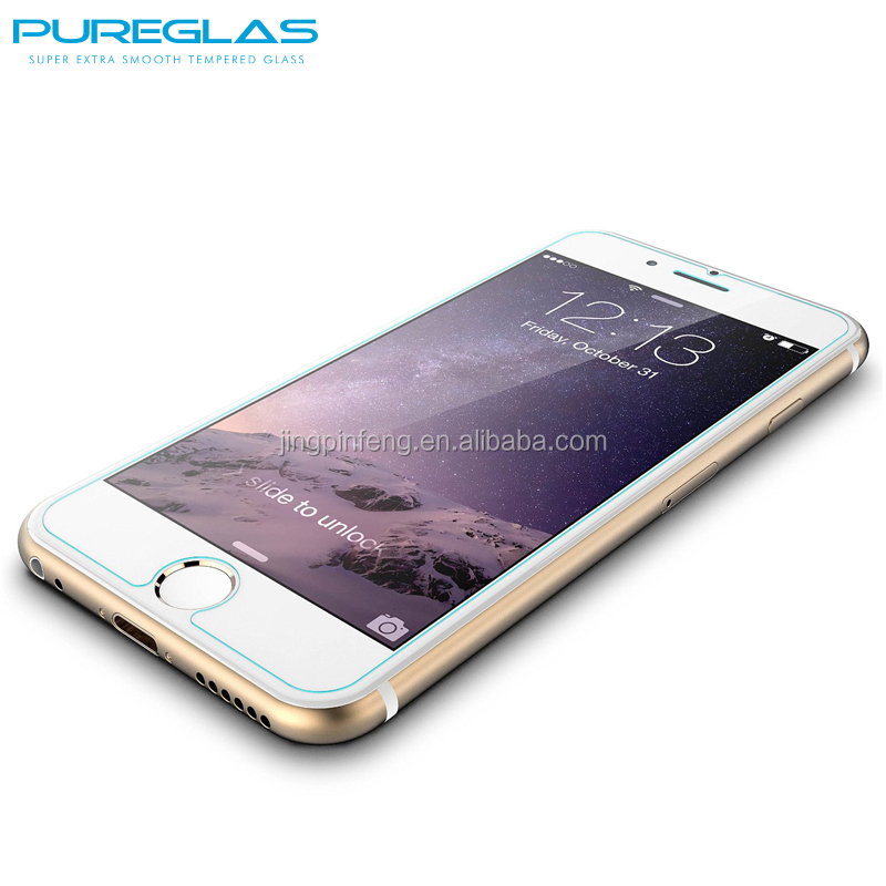 Factory Supply High Quality Brand Pureglas For iPhone 6 Screen Protector Tempered Glass