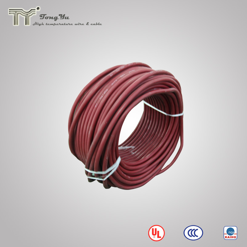 UL3135 flexible silicone insulated heat resistance copper conductor power cable wire