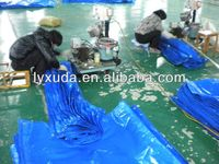 Trailer Tarps Chinese Supply Blue Tarp Plastik Tarpaulin Making Covers