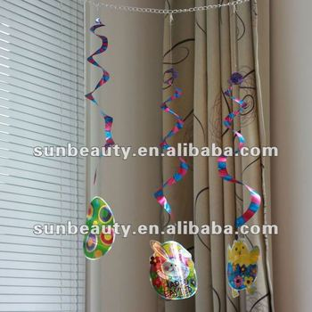 Party Easter Ceiling Hanging Swirls Decoration Buy