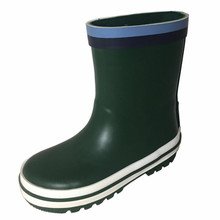 Solid cheap kids rain boots,fashion design rain boot