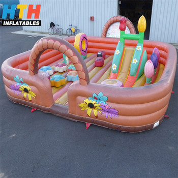 inflatable indoor playground for kids inflatable fun city
