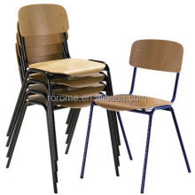 Simple design metal stacking chair(RR-882000)