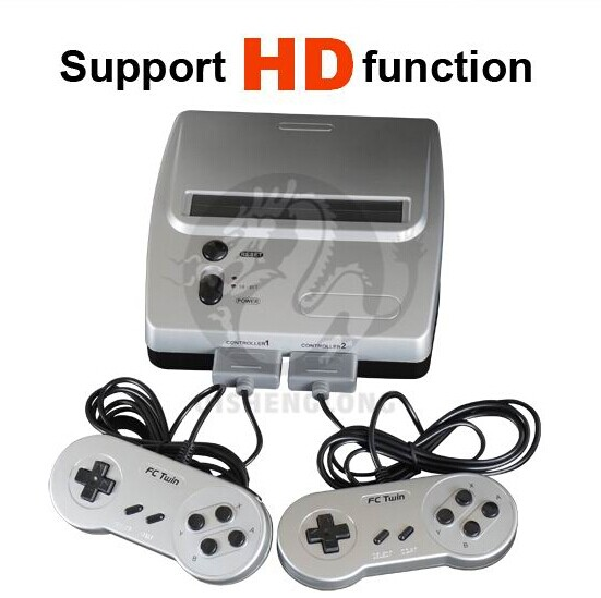 16 Bit Retro Video Game Consoles