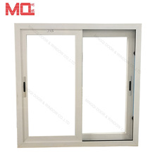 China factory sliding window with 4 panels tinted glass colored