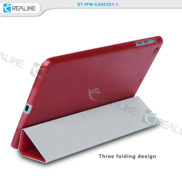 For ipad mini luxury leather realike brand case