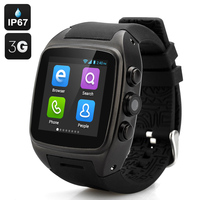 "Unlocked smart watch mobile phone 1.54"" Touch Screen support SIM TF FM radio MP3 bluetooth smart watch 3g"