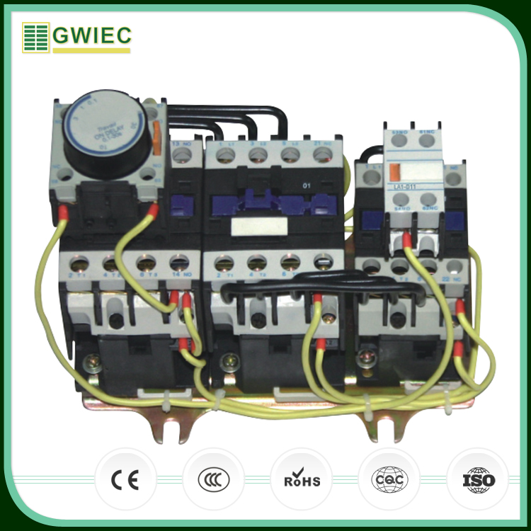 GWIEC China Products Switch Star Delta Magnetic Starter For Reduced Voltage With Low Price