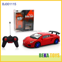 Best kids toy car red replica rc touring sport car toy plastic boys toys imitation auto club world racing car