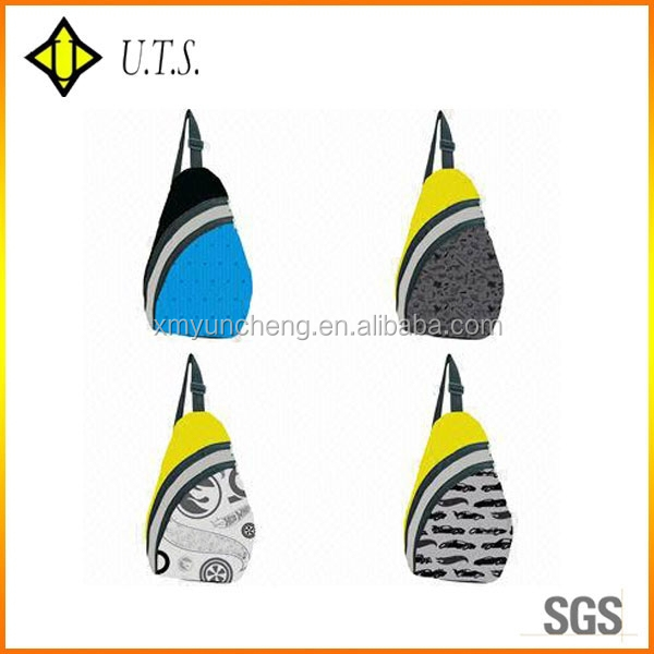 Special triangle shape backpack sling bag