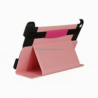 Convenient 8 inch leather case for ipad mini tablet