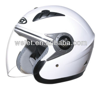 Half face helmet with helmet cover bag