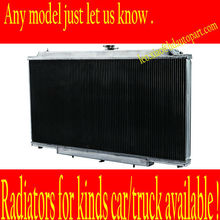radiator auto Aluminum radiator Alloy radiator for Ford BA BF Falcon V8 Fairmont XR8 XR6 with build-in oil cooler AT
