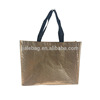 Promotional Gift Advertising Metallic PP Non Woven Laminated Bag