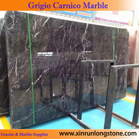 Grey marble slabs and tiles grigio carnico marble with good price