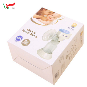 electric breast pump packaging nursing product corrugated paper box