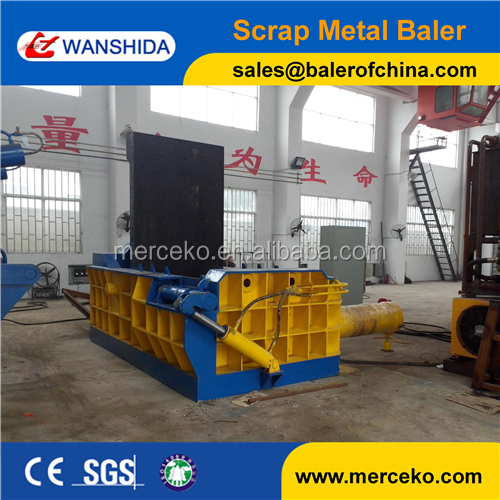 Baler Manufacturer Horizontal Baler Press for Metal Scrap Copper Aluminum
