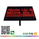 "10""x15"" Digital LED Placard with printed logo 1/2/ 3 lines scrolling message LED paging board for bidding meeting customer"