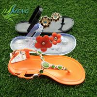 wholesale PVC plastic flip flops shoes women sandals shoes