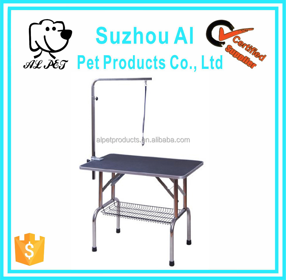 Stainless Steel New Adjustable Pet Cat Dog Grooming Table