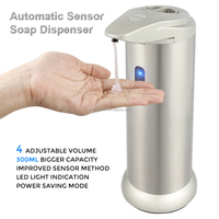 Bathroom Accessories IR Infrared Sensor Hand Free Touchless Automatic Stainless Steel Kids Foam Soap Dispenser