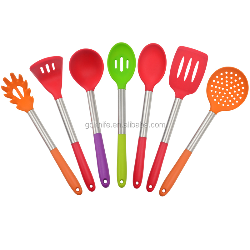 New kitchen products heat resistant colorful household silicone kitchen ware