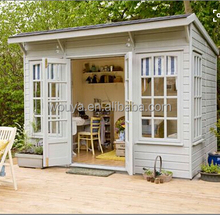 2017 Garden wooden house / tool storing cabin wood chalet log home for sale