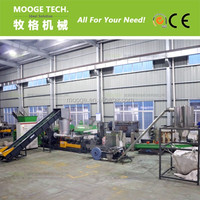 Good quality pe pp plastic film granulator machine / plastic pelletizing machine