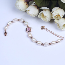 Wholesale Cheap Austrian Alex Crystal Pearl Jewelry Bracelet