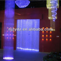 150W Colorful led waterfall light/ Plastic Optical fiber