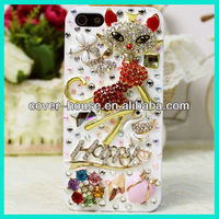 Shinny Rhinestone Back Case for iPhone 4S 4G