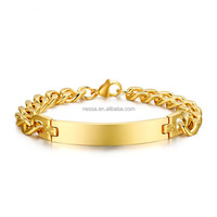 Fashion gold stainless steel jewelry yiwu wholesale NS-BR-004G