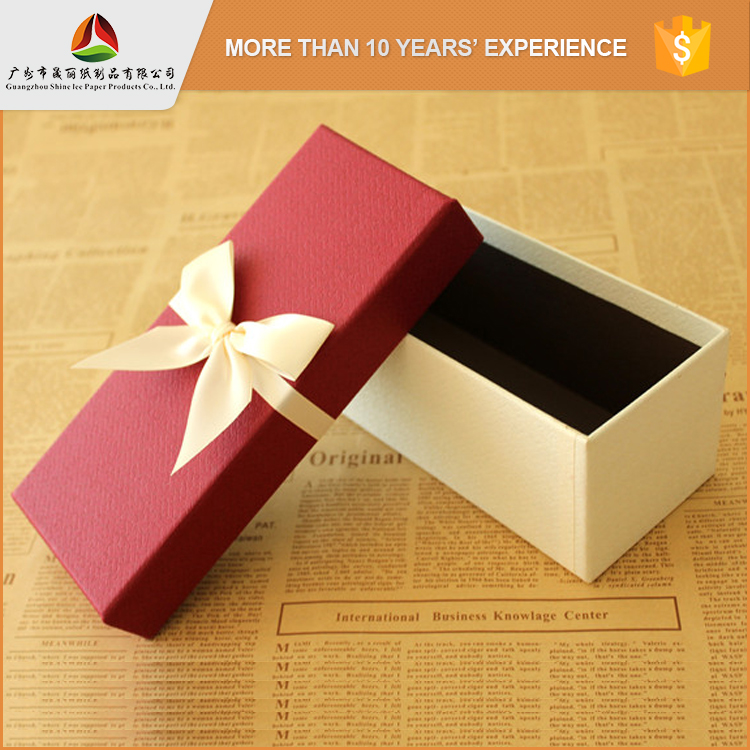 Guangzhou packaging supplier sale recycled necklace gift paper box in malaysia