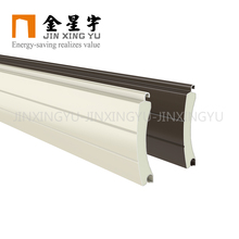 Jinxingyu insulated aluminum roll up shutter door parts for sun shading