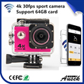 Wholesale competitive price 4k waterproof wifi full hd sports camera action camera