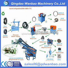best price used tyre recycle equipment for rubber powder
