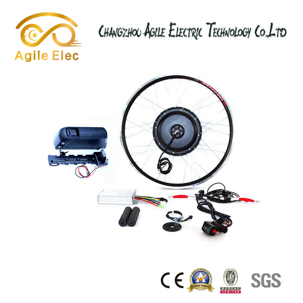 Battery Powered 48V 750W Ebike Wheel Hub Motor Kit DIY Made in China
